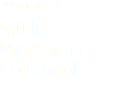 Design project Müller - Marketing Collateral