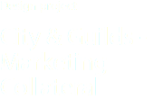 Design project City & Guilds -Marketing Collateral