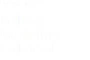 Design project Bellway -Marketing Collateral