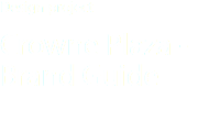 Design project Crowne Plaza -Brand Guide